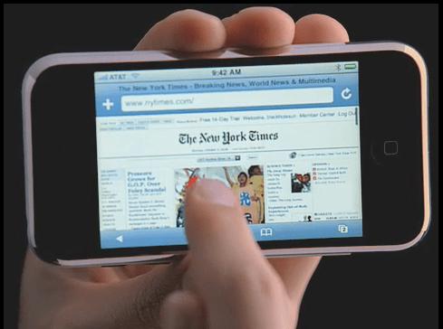 iPhone Internet ad