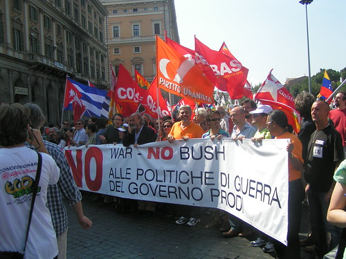No Bush No War Day