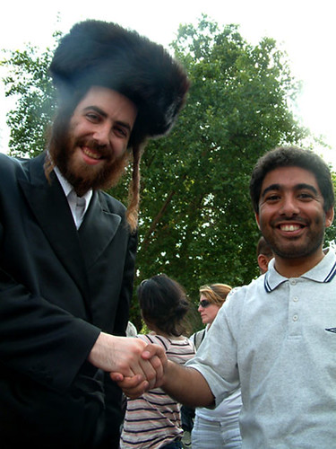 The Clash Of Civilisations Handshake
