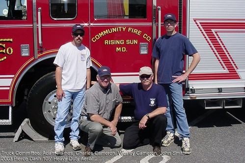Truck Committee:  Nazareth, PA Big Show, final inspection & pickup, May 3, 2003