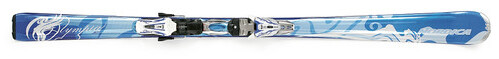 Nordica, Olympia, Mint, Womens, Skis, 2008