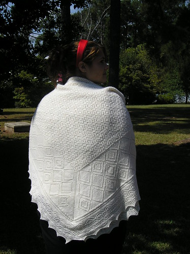 Cristening Blanket - Shawl option