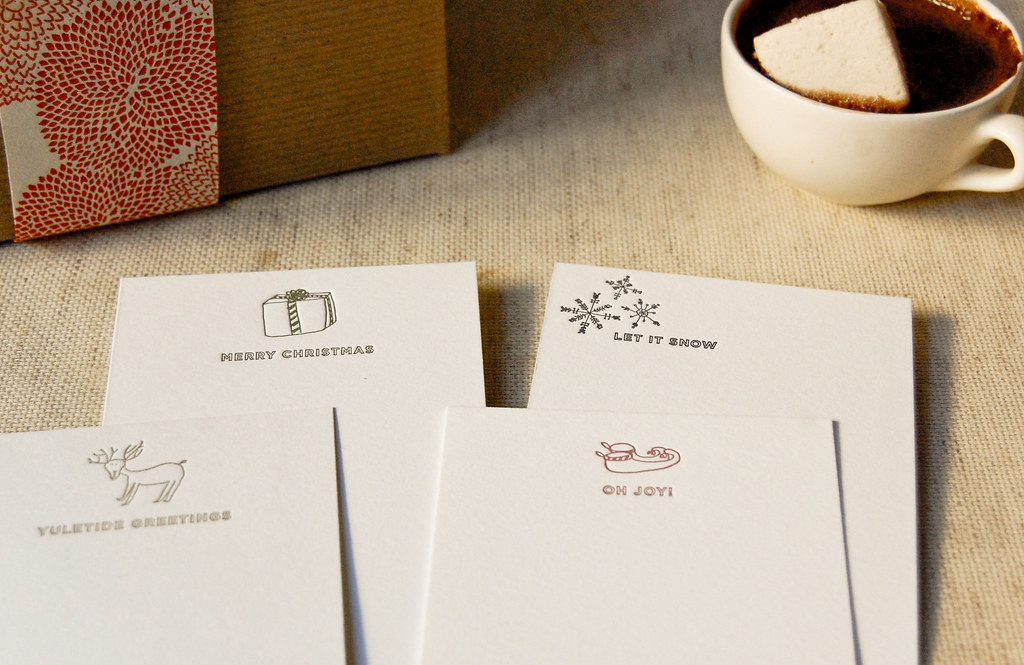 Chirstmas Note Cards | Scene