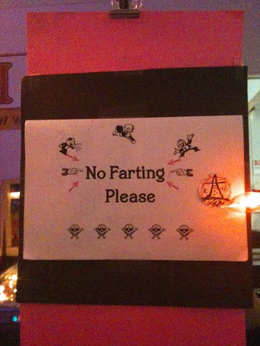 No Farting Please by killah.poopface