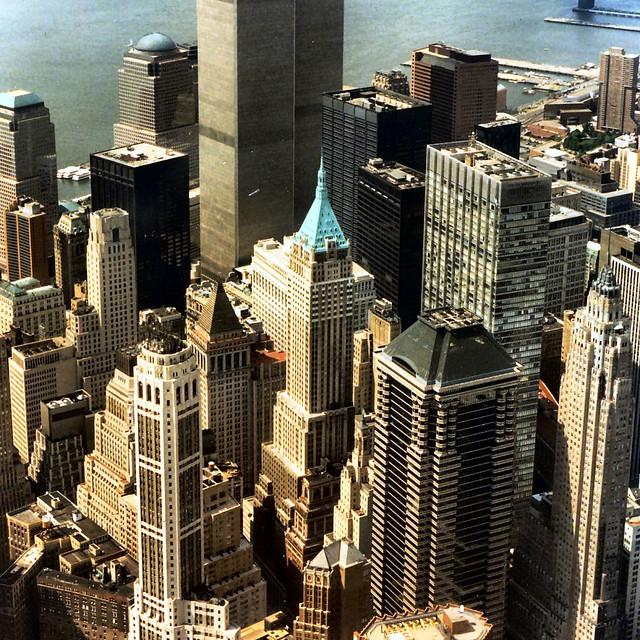 NY twin towers 1997
