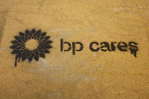BP Cares Stencil