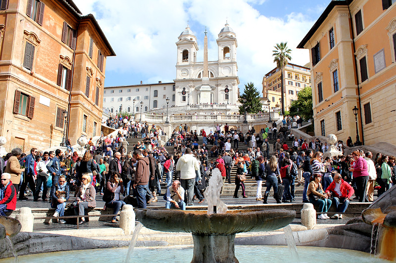The Spanish Steps - Piazza Spagna