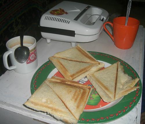 sarapan roti bakar