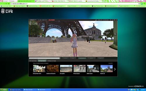 Browser Beta - Eiffel Tower