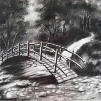 碳筆_小橋流水