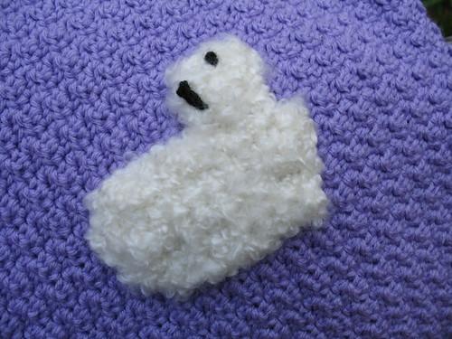 Bub's Blanket - Up Close Sheep