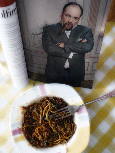 Tony y la pasta