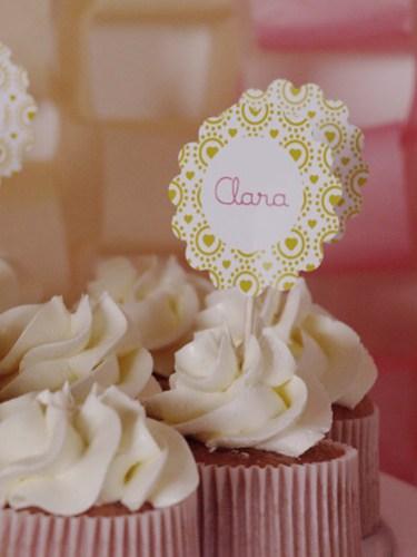 Clara cumple 1 año