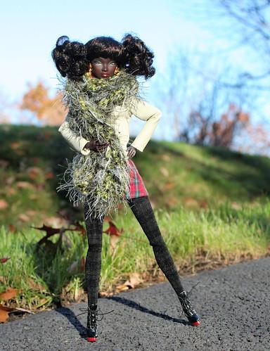 Nadja Goes For An Autumn Stroll