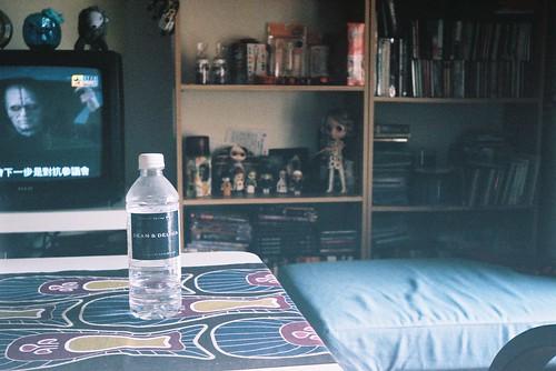 my favorite shot - Dean&deluca bottle water這張洗出來的效果非常好