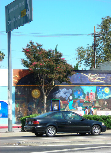 Colorful Mural on Vineland