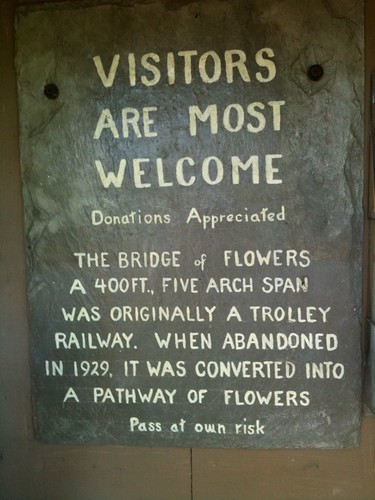 The Bridge of Flowers
