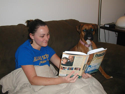 Reading with Belle