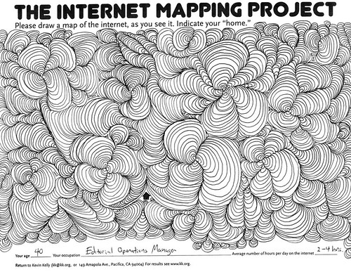internetmap014 by Kevin Kelly.