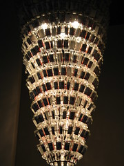 Grain Belt Chandelier, August 2007, photo © 2007 by QuoinMonkey. All rights reserved.