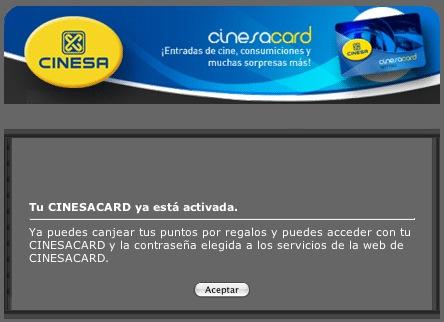 Cinesa Card
