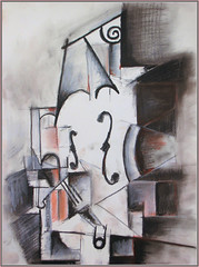 Picasso's Violin