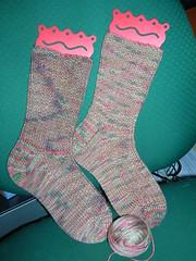 my first pair of socks!