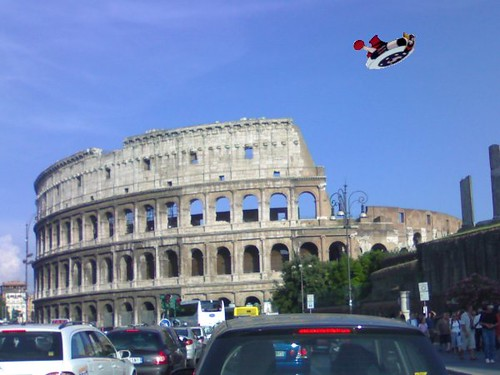 Nel cielo di Roma / In the sky of Rome