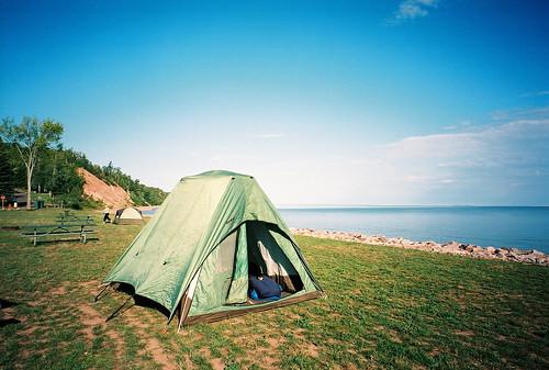 Camping at Iron County Park