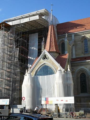 Portail peint Cathédrale (24 septembre 2007)
