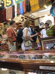 Shopping in the Spice Bazaar
