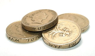 4 Pounds Sterling - On White Set - P9053075