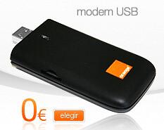 Moden USB de Orange