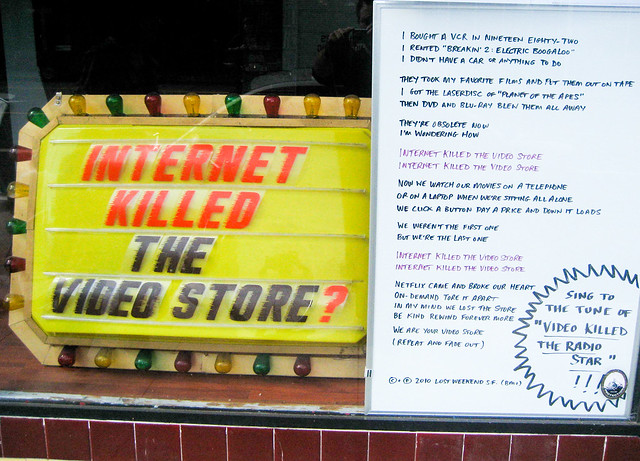 Internet Killed the Video Store?