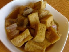 Pork and Tofu - Yummy!