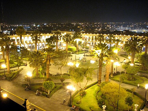 Plaza de Armas de Arequipa (by morrissey)