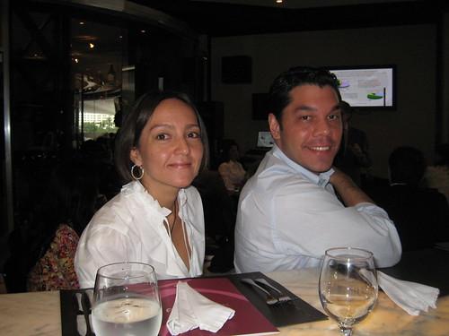 Gisa Colasante y Guillermo Brea