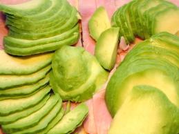Avocadotoast belegt