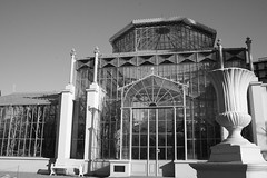 Cactus (nee Palm) House, Front View (B&W)