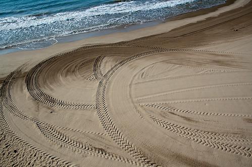 El lienzo de arena