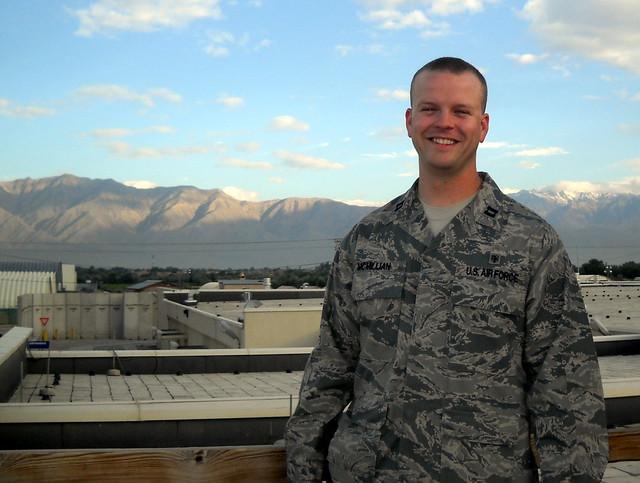 Chris in Afghanistan
