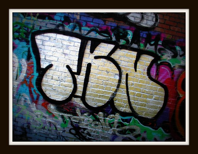 Cardiff Boilerhouse Graffiti