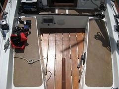 New floor boards