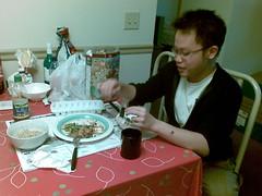 13092007(005) Eko and my dinner