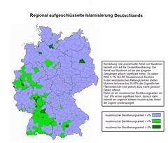 Deutschland, Islamisierung