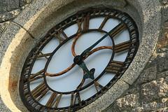 Rusting clock face