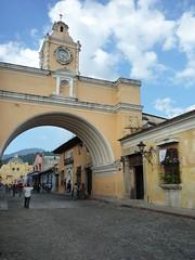 Torbogen von Antigua, Guatemala