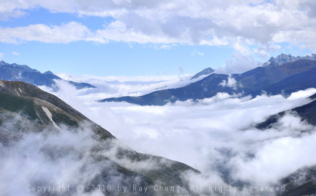 On the way to Kangding