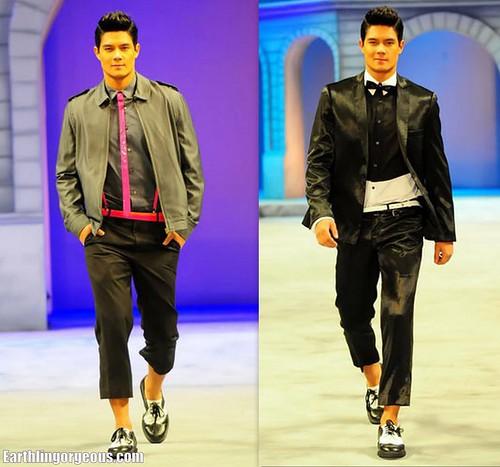 Daniel Matsunaga @ PFW SS 2011 Wharton fashion show