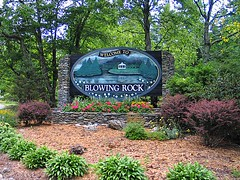 Welcome to Blowing Rock
